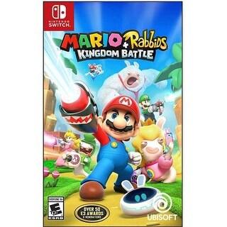 Ubisoft - Ubp10902110 - Mario Rabbids Kngdom Bttl Nsw