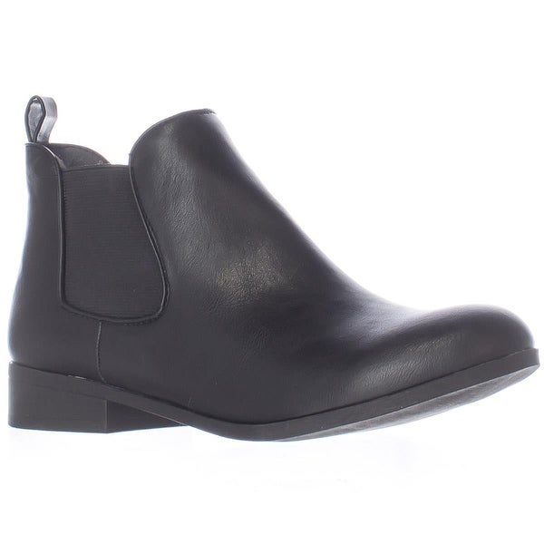 AR35 Desyre Chelsea Ankle Boots, Black