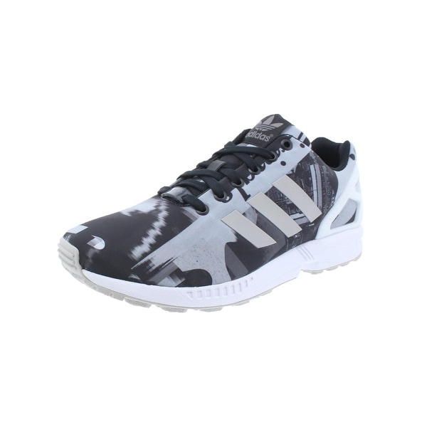 sports shoes b0290 aa30d Shop Adidas Mens ZX Flux Running Shoes Torsion Printed - 8.5 ...