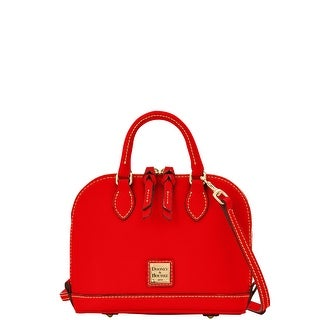 Dooney & Bourke Saffiano Bitsy Bag (Introduced by Dooney & Bourke at $198 in Jan 2015) - Red