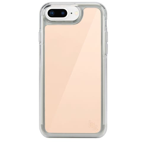 Kendall + Kylie Mirrored Case for iPhone 8 Plus and 7 Plus Rose Gold - Pink