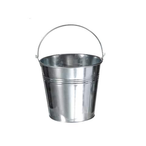 Aluminum Round Planter (small)