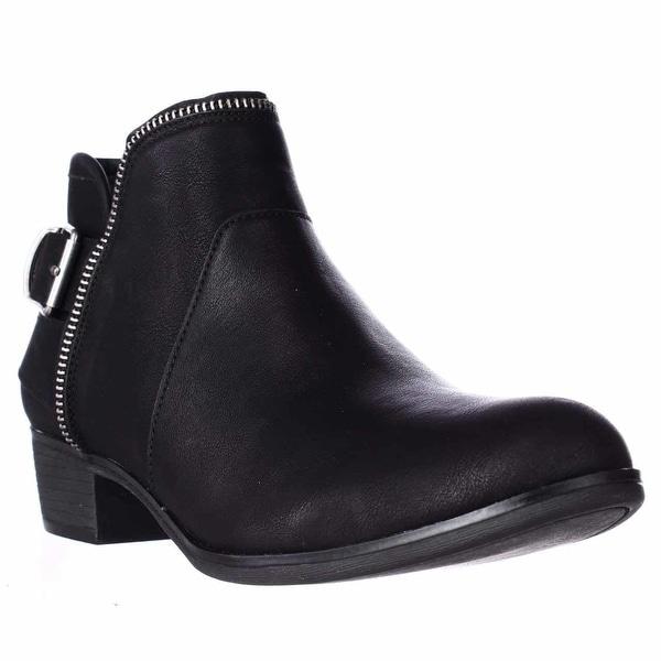 AR35 Edee Ankle Booties, Black