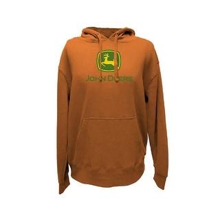 John Deere Western Sweatshirt Mens L/S Fleece Hoodie Logo 13560000