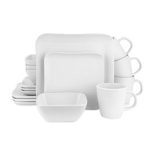 Link to Stone Lain Stoneware Square Weave Dinnerware Set Service Similar Items in Dinnerware