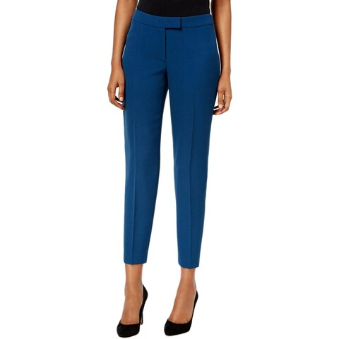 Anne Klein Womens Ankle Pants Slim Fit Classic Rise