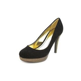 Style & Co Alia Open Toe Canvas Platform Heel