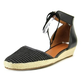 Lucky Brand Talianna Women Round Toe Synthetic Black Espadrille