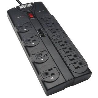 Tripp Lite TLP1208TELs Tripp Lite TLP1208TEL Surge Protector 12 Outlet 120V RJ11 8ft Cord 2160 Joule