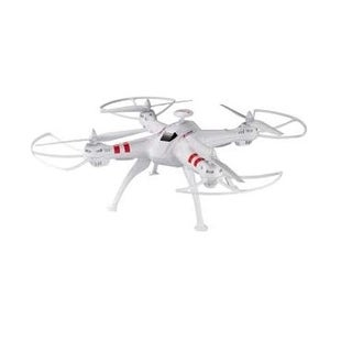 Worryfree Gadgets Drone-X15-Wht Rc Quadcopter With Headless Mode - White