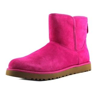 Ugg Australia W Cory Women Round Toe Suede Pink Snow Boot