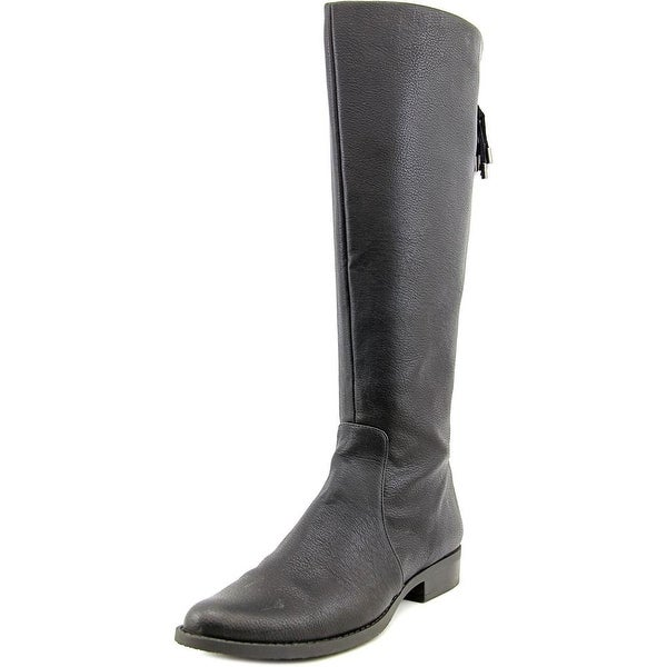 Calvin Klein Womens Taylie Wide Calf Closed Toe Knee High Fashion Boots