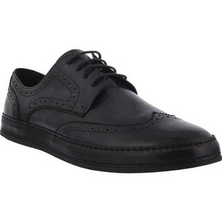 Spring Step Men's Joey Oxford Black Leather