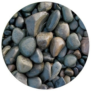Deluxe Mouse Mat- River Rocks