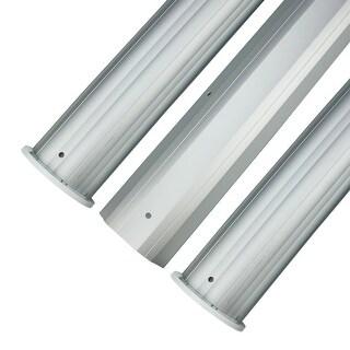 "HydroTools Round Aluminum Solar Cover Reel Tube Kit - 3"" x 24'"