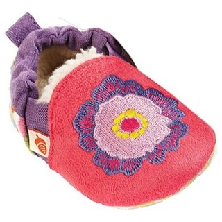 Acorn Infant Easy-On Moc Pink Flower