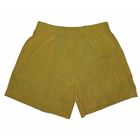 Brioni Mens Yellow Swim Shorts M