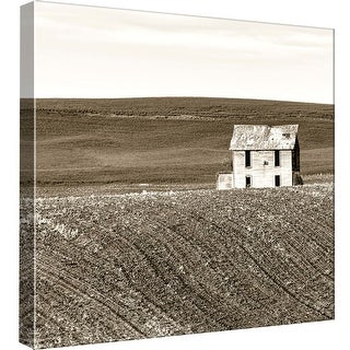 """PTM Images 9-97710  PTM Canvas Collection 12"""" x 12"""" - """"Abandoned House"""" Giclee Rural Art Print on Canvas"""