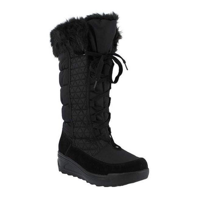 Fotios Boot Black Nylon