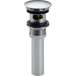Delta 72173 Push Style Pop-Up Drain Assembly with Overflow