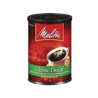 Melitta 605211 Classic Decaffeinated  (Single Pack) Classic Decaf Ground Coffee