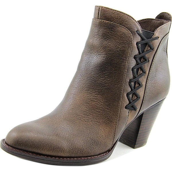 Sofft Waverly Women Round Toe Leather Brown Ankle Boot