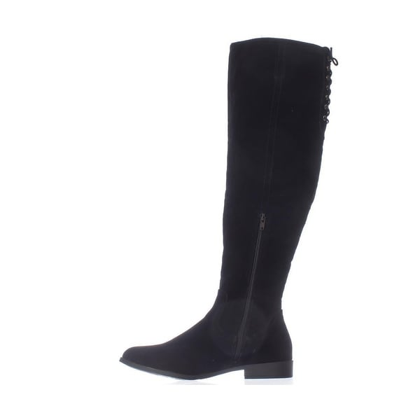 XOXO Womens TRISHH2 Closed Toe Knee High Fashion Boots