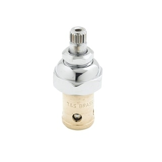 T and S Brass 005960-40  Hot Eterna Spindle Assembly (RTC) - Chrome