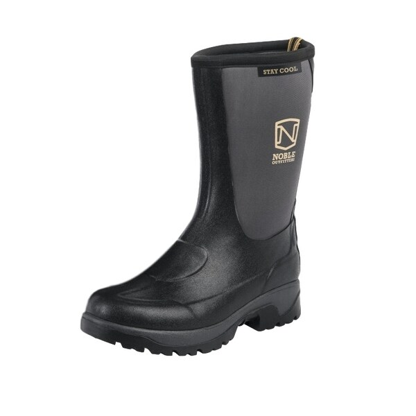 Noble Outfitters Outdoor Boots Mens Stay Cool Waterproof Black