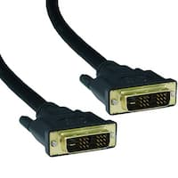 Offex DVI-D Single Link Cable, DVI-D Male, 2 meter (6.6 foot)