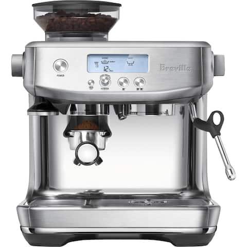 Breville Barista Pro Brushed Stainless Steel Espresso Machine