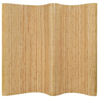 "Link to vidaXL Room Divider Bamboo 98.4""x65"" Natural Similar Items in Decorative Accessories"