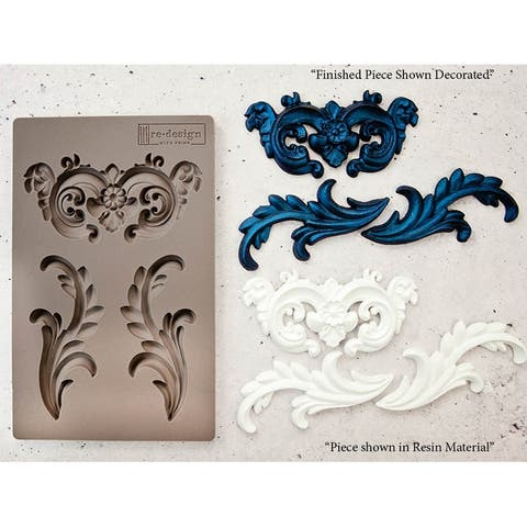 Prima Re-Design Decor Mould-Everleigh Flourish