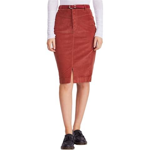Free People Womens Rosemary Corduroy Skirt