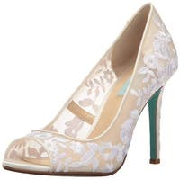 Blue by Betsey Johnson Women's Sb-Adley Dress Pump - 9