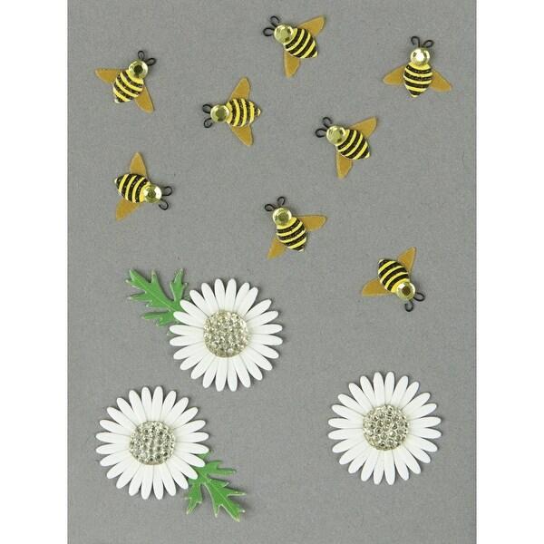 Jolee's Dimensional Embellishments-Bumblebees & Daisies