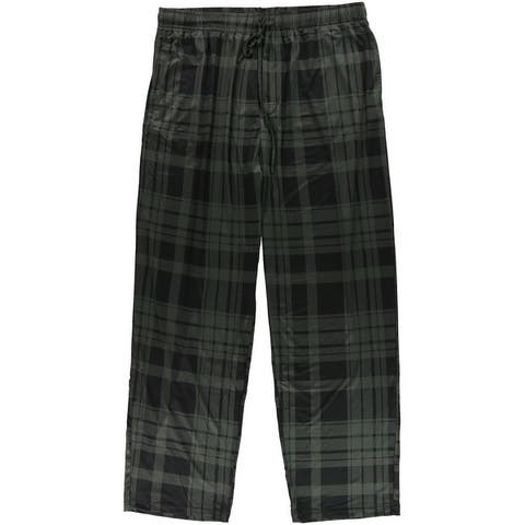 32 Degrees Mens Plaid Pajama Lounge Pants