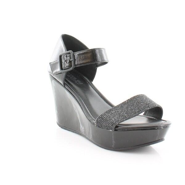 Kenneth Cole Reaction Sole Gem Women's Sandals & Flip Flops Black