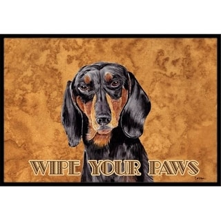 Carolines Treasures SC9139MAT 18 x 27 in. Dachshund Indoor & Outdoor Doormat
