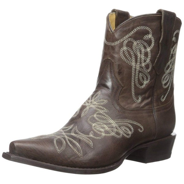 f0c4c0b443d Shop Stetson Womens Adelle Pointed Toe Mid-Calf Cowboy Boots - Free ...