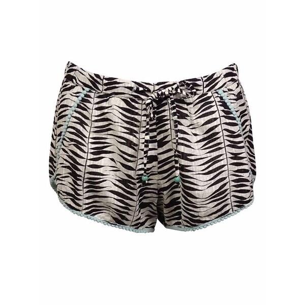 d55147326c Shop Roxy Women's Pom Pom Beach Shorts - Free Shipping On Orders ...