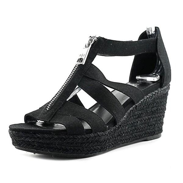 LAUREN by Ralph Lauren Womens kelcie Fabric Open Toe Casual Espadrille Sandals