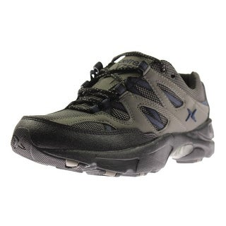 Aetrex Mens Sierra Leather Colorblock Running Shoes - 7 medium (d)