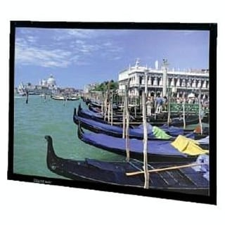 "Da-Lite Perm-Wall Fixed Frame Projection Screen - 54"" x 96"" - (Refurbished)"