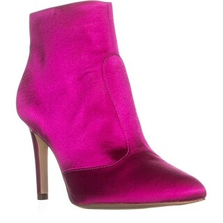 Sam Edelman Olette High Pointed Toe High Ankle Boots, Hot Pink