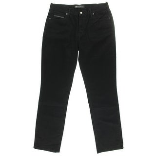 Levi's Womens 505 Mid-Rise Stretch Straight Leg Jeans - 6