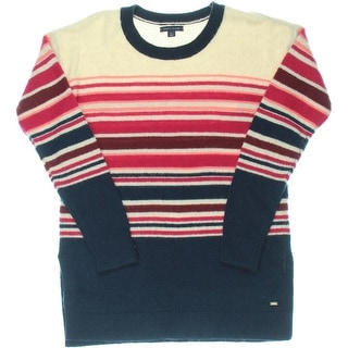 Tommy Hilfiger Womens Wool Long Sleeves Sweater