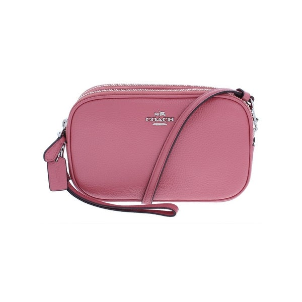 bd87cea2df60 ... low cost coach womens crossbody handbag leather convertible small 0669e  fbc33 ...
