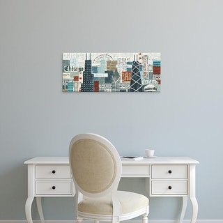 Easy Art Prints Michael Mullan's 'Hey Chicago Crop' Premium Canvas Art