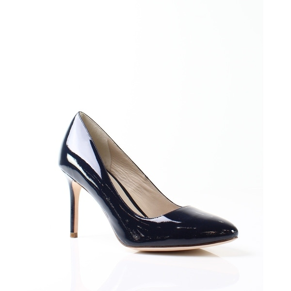 Cole Haan NEW Blue Bethany Shoes 11M Pumps Patent Leather Heels